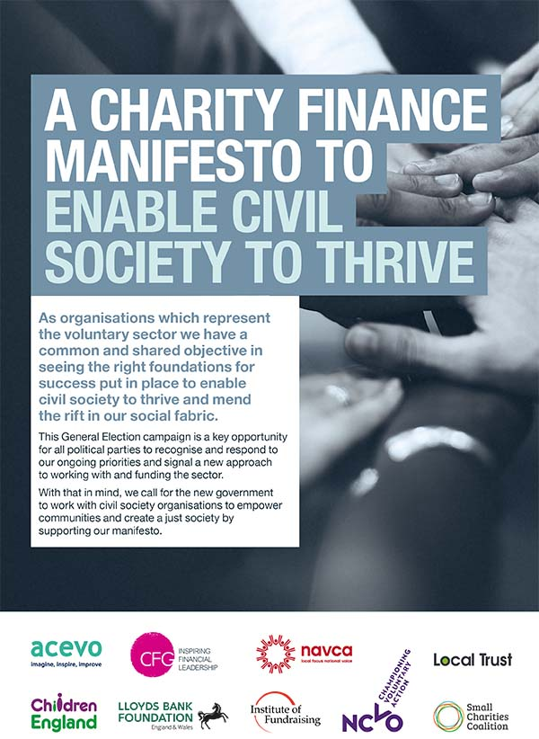 A Charity Finance Manifesto To Enable Civil Society To Thrive