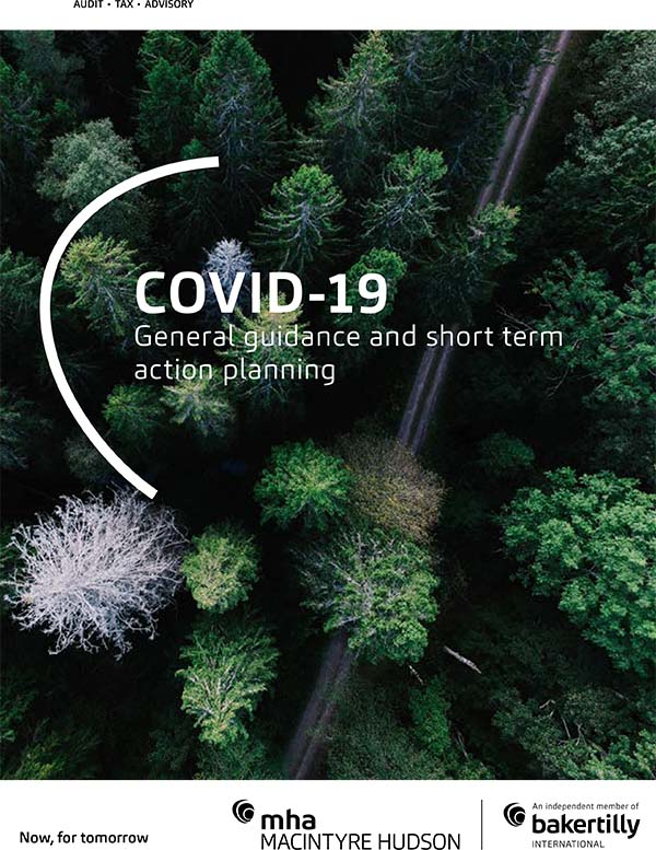 COVID-19: General guidance and short-term action planning